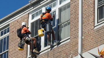 SAS Building Painting