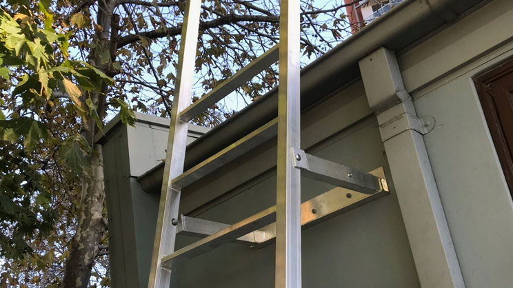 Roof Ladder Installation