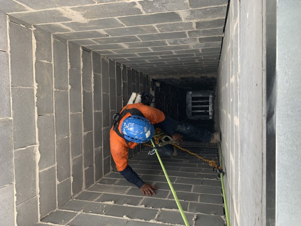 Confined space work  Summit Access Solutions