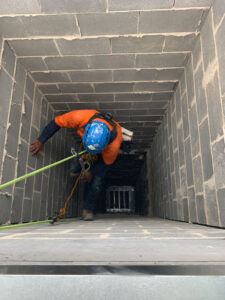 Confined space works